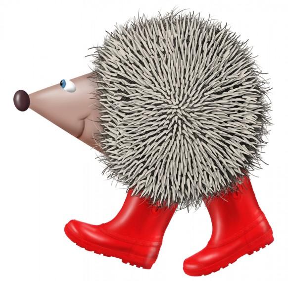 Hedgehog Garden resisdent - Harri